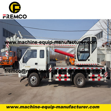 Wheeled Tire Hydraulic Crane 4-20t