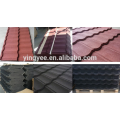 Colorful stone coated roof tile production line
