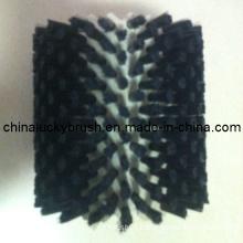 Black Nylon Glass Round Cleaning Brush (YY-218)