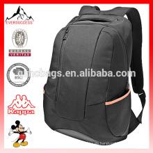 Mochila para portátil moderna con mochila negra y correas para el hombro