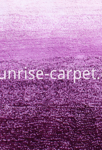 Microfiber Gradation Color Carpet