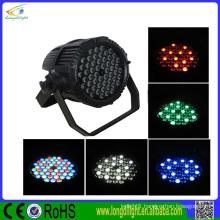 China led par cans light waterproof dmx 54x3w rgbw led par 64 Outdoor