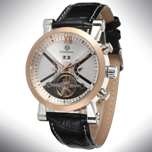 Top brand forsining men's high quality automatic mechanical male watch