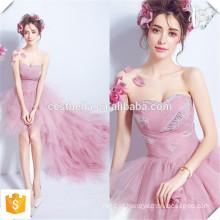Short See Through Back Purple Dama de honra Comprimento curto no joelho Chiffon vestido de dama de honra Evening Cocktail Dress 2016