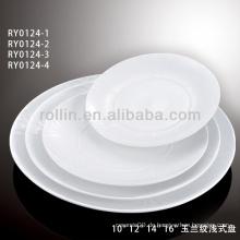 China Haushaltswaren Keramikplatte aus Chaozhou Fabrik