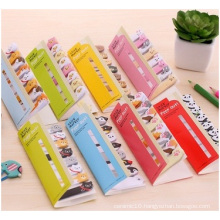 Creative Cute Cartoon Animals Sticky Notes, 8pads with Hollow Cover
