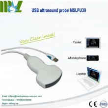 Neue Ankunft usb Ultraschallsonde für Laptop in den Kliniken, im Notfall und im Freien
