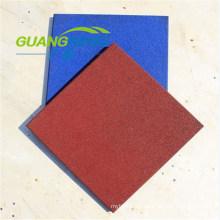 Colorful Rubber Tile, Square Rubber Tile, Kindergarten Rubber Tile