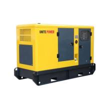Conjunto de generador de energía diesel insonorizado Power 75kVA de Unite con motor Perkins