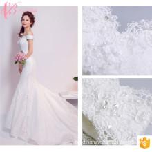 Gorgeous Chic Mermaid Satin Malaysia Wedding Dress
