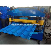 NO Stop Cutter Metal Roofing Roll Forming Machine With Faster Speed