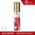 Etikettendruck Mit Kappe Lipgloss Röhre Verpackung billig klare Kunststoff-Rohr