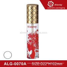 Impresión de la etiqueta con el casquillo tubo del tubo del lustre del labio tubo plástico barato barato