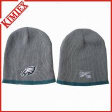 Atacado de inverno personalizado personalizado quente malha Beanie Hat