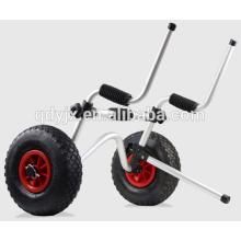 chariot avec 1 béquille et caoutchouc-mousse souple YJX02012 en kayak