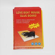 Trampa barata del pegamento del ratón del precio con buena calidad