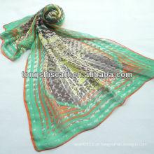 SD319-123 moda lenço de seda coreano