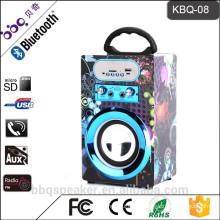 BBQ KBQ-08 10W 1200 mAh Battery Best Bluetooth Outdoor Portable Karaoke System loud speaker
