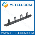 19 Inch Cable Manager With 4pcs Metal Ring