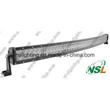 Barra de luz del coche del CREE LED de 288W 4X4, barra ligera curvada del LED del camino, arco de la luz del coche LED doblado