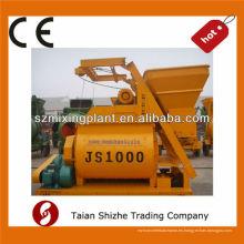 ¡Precio favorable y calidad realible! Mezclador de hormigón de doble hélice horizontal JS1000