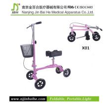 Caminhão Steerable dobrável com sustentação do joelho