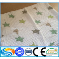 hot sale 100% cotton printed muslin fabric