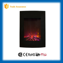 "vertical 23"" wall electric fireplace large room heater 110-120V/60Hz"