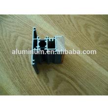 China Perfil de alumínio de madeira para Windows aberto lateral