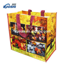 saco de compras tecido pp plástico reutilizável