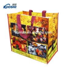 многоразовая пластмасса PP сплетенная хозяйственная сумка