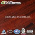 Barato micro bisel de 6 mm de espesor lvt pisos de vinilo con fibra de vidrio