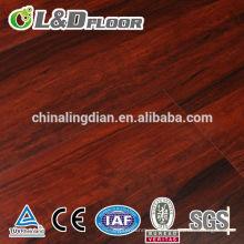 Plancher en vinyle de lvt d'épaisseur de petit biseau 6mm épais avec la fibre de verre