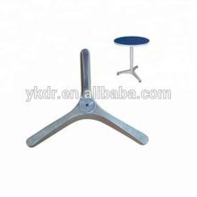 outdoor cast aluminium table base