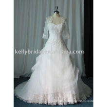 Hot selling muslim wedding gown, bridal dress