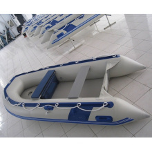 2.9m PVC inflável barco, lancha esportiva, barco no Rio