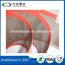 ROSH Certificado de alta qualidade PTFE Teflon Revestido Fiberglass Mesh Belt