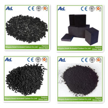Wooden based pellet activated carbon for air purification