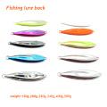 MJL001 Nouveau leurre de pêche de poids différent appât artificiel métal jig leurre