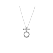 Sterling Silver S925 Silver Finished Necklace Sublime Heart