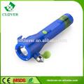 Chinês com martelo de segurança de alta potência 1W LED plástico levou tocha lanterna