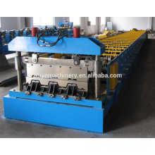 Piso de metal Pavimentação Azulejos Cold Making Equipamentos / Pavimentação Decker Roller Forming Line