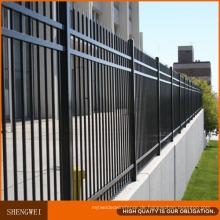 Pulverbeschichtung Ornamental Schmiedeeisen Zaun