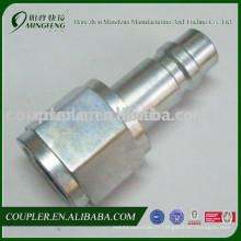 Connecteur rapide pneumatique d'acier au carbone de compresseur d'air pour des garnitures d'air de lIne