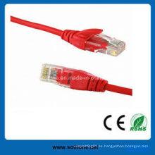 UTP CAT6 cable de parche / cable de puente con el mejor precio