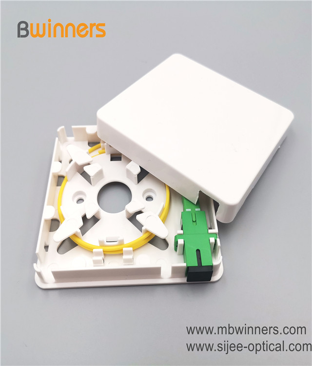 Ftth Wall Outlet 8686