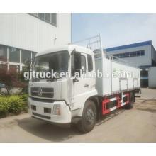 4x2 Dongfeng live fish transport truck, fresh meat refrigerator truck,10-15T fish transportign truck