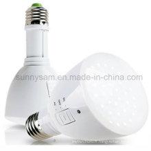 Ampoule rechargeable portative chaude de secours de lampe-torche de LED