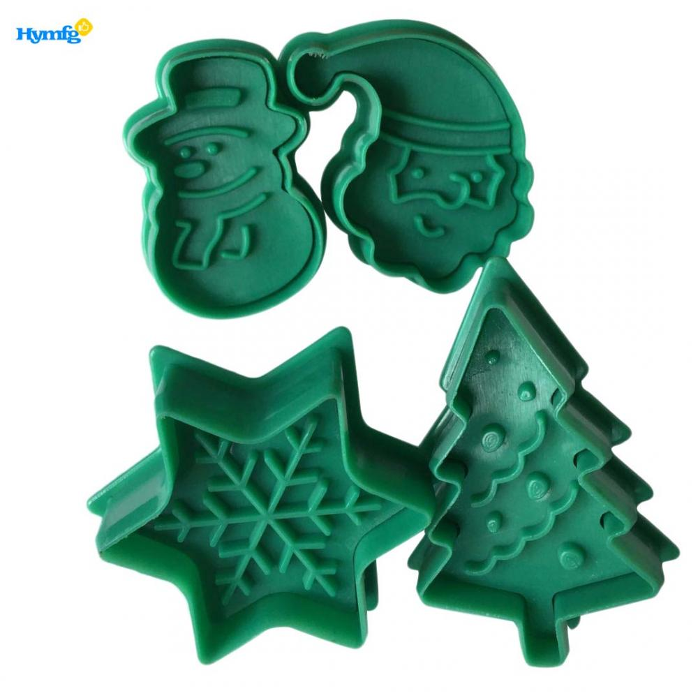 Christmas Fondant Pluner Cutter Set