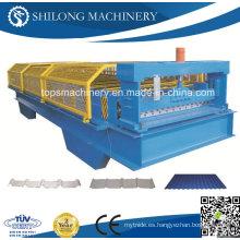De alta calidad de acero galvanizado hoja de piso de la cubierta de la máquina formando rodillo